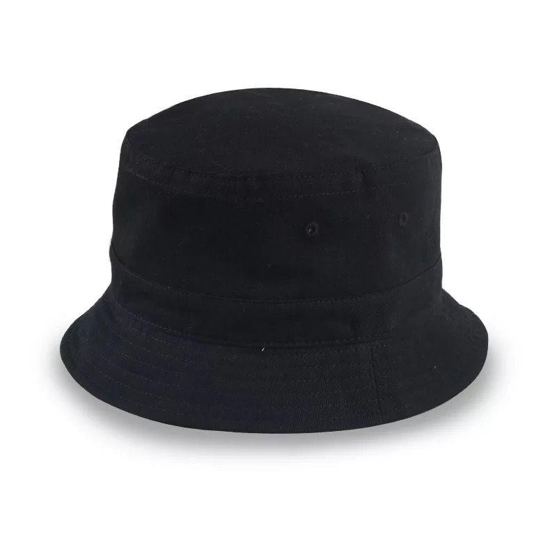 黑色大沿帽