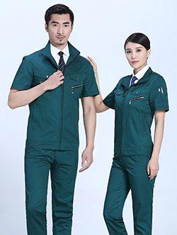 定制东莞工作服的肩宽如何测量?