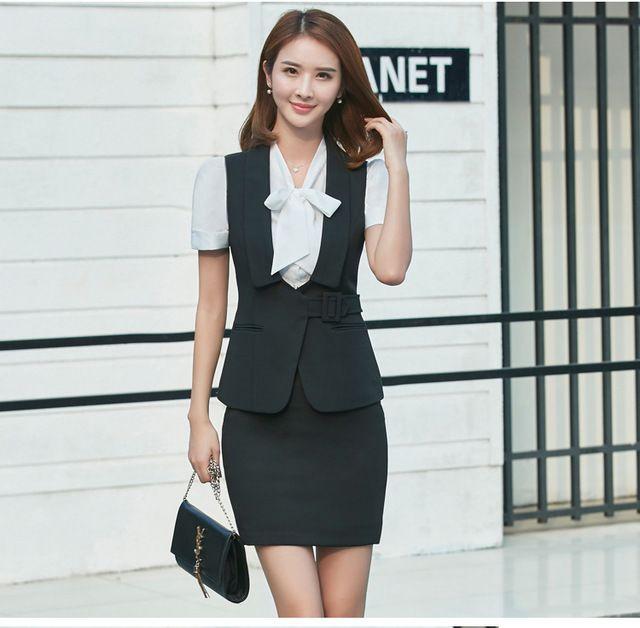 夏装新款职业衬衫 女酒店前台文员长袖立领东莞工作服时尚正装衬衣